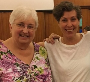Dorothy Jones and Lenni Jabour, June 2017, London Ontario.